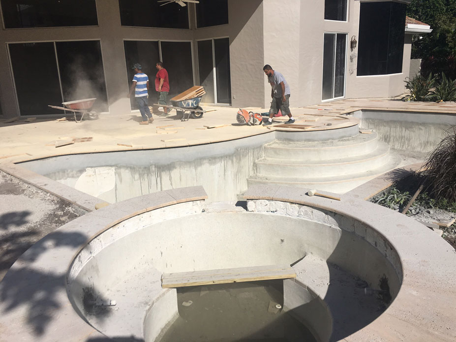 Renovation company beautiful making your house a better for Pool design boca raton